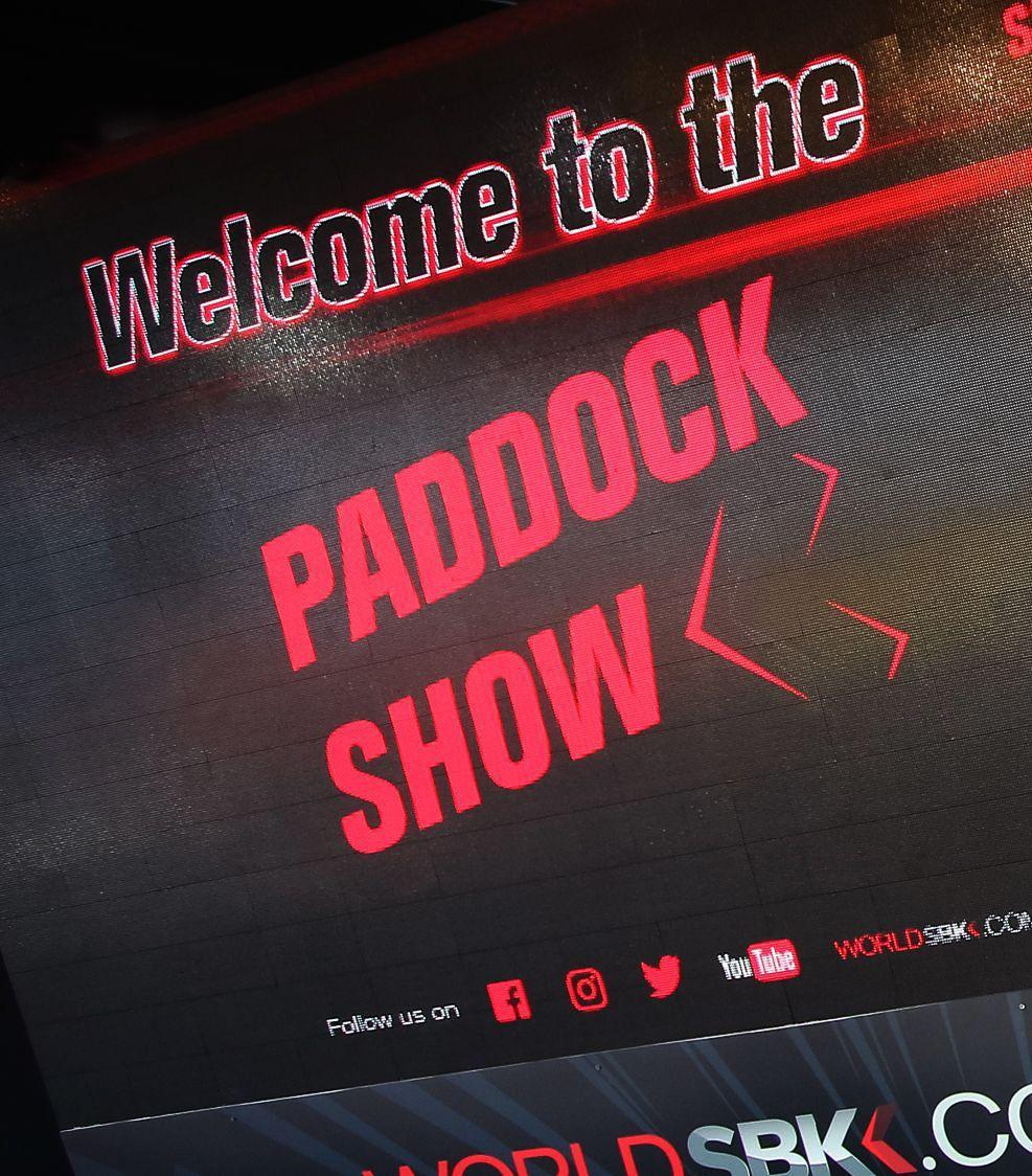 PADDOCK SHOW SCHEDULE
