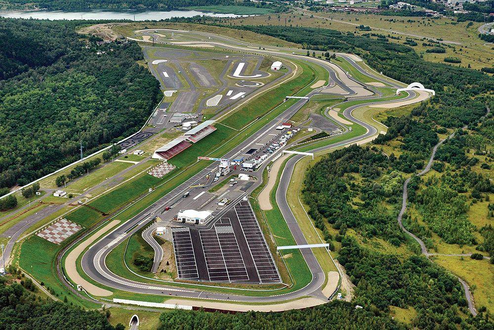 Autodrom Most,  Most, Czech Republic